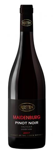 Pinot Noir 2017, pozdní sběr