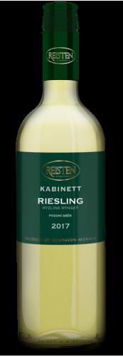 Riesling 2017, pozdní sběr