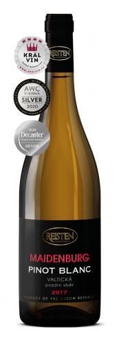 Pinot Blanc 2017, pozdní sběr