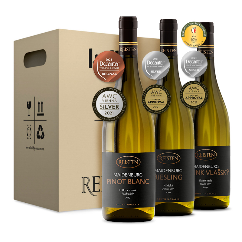 Box oceněných vín AWC...